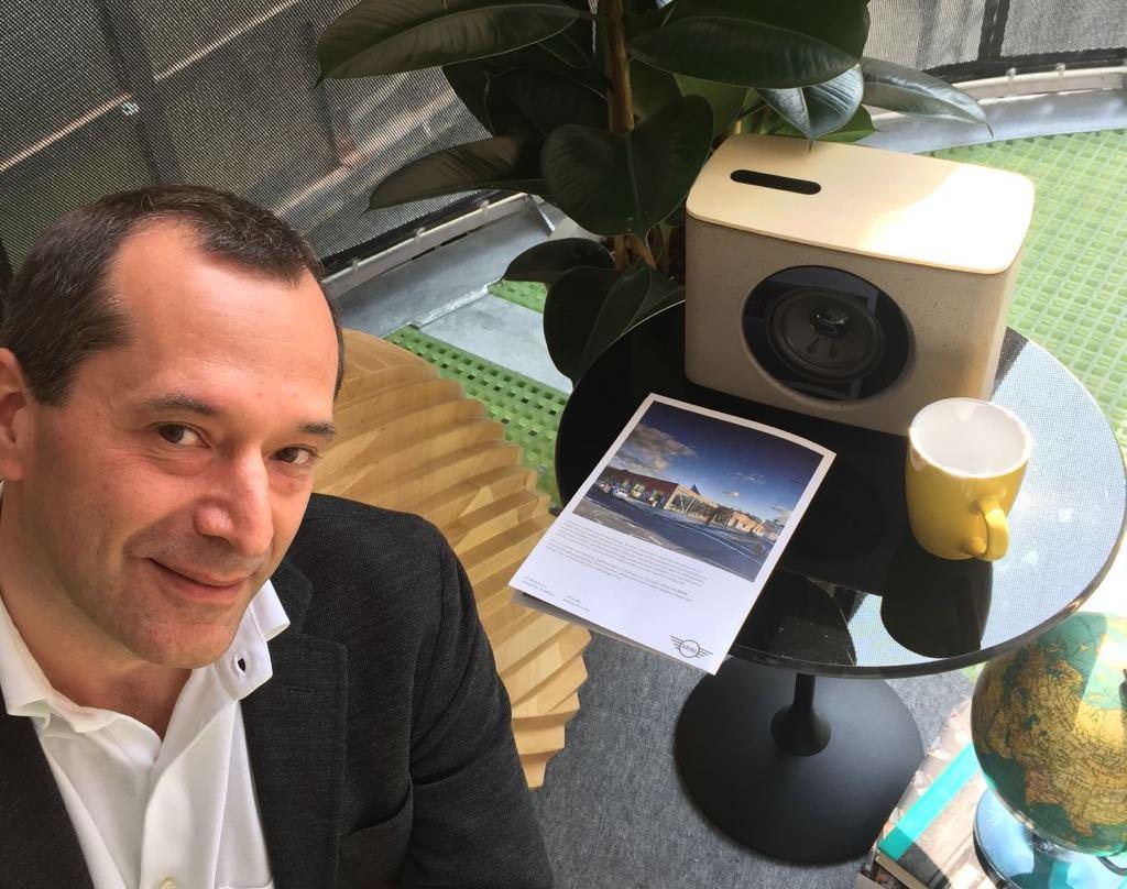 Giulio Gaioni Digital Habits Bmw Mini living Design Week Milan